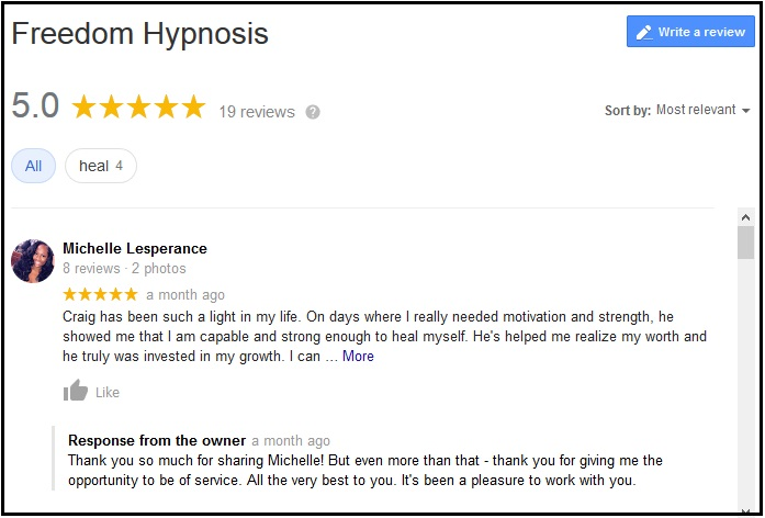 Google-Reviews-For-Freedom-Hypnosis-Nashville